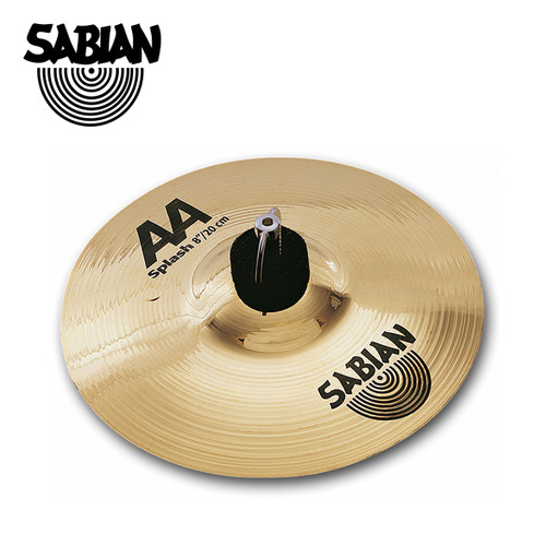"SABIAN 8"" SPLASH 심벌 AA BR"