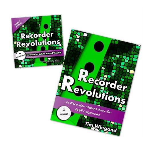 Recorder Revolutions Book and Interactive Whiteboard CD Pack