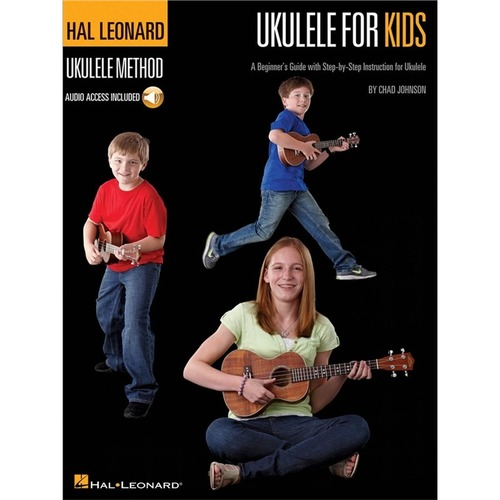 Ukulele for Kids - Book with Online Audio Access