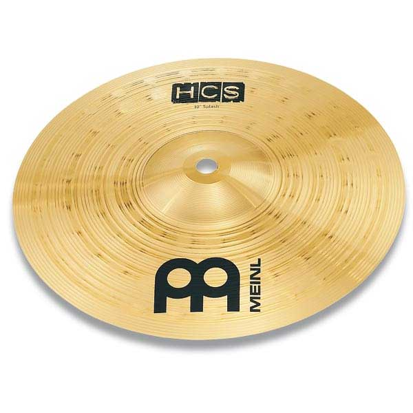 Meinl HCS Splash 심벌 10인치 Brass HCS10S