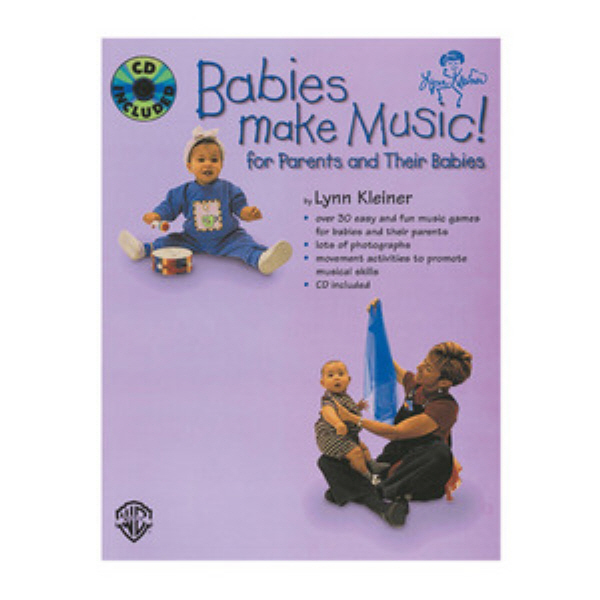 Babies make music Book+CD