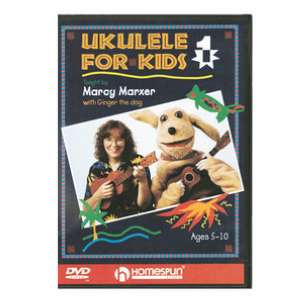 [DVD] Ukulele For Kids 1